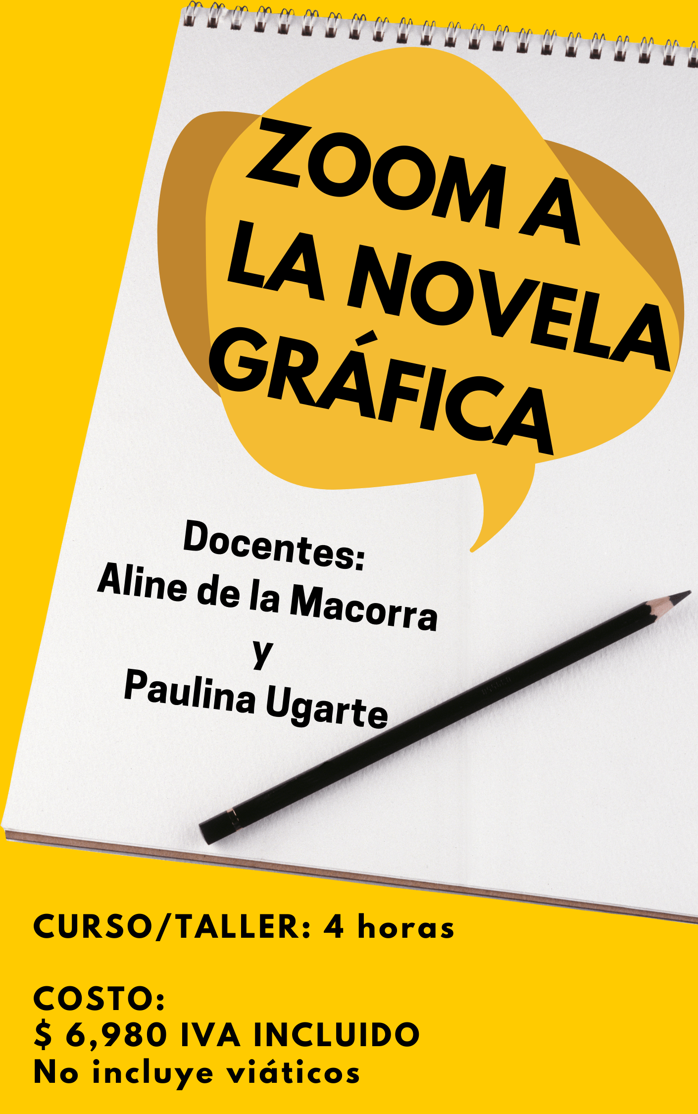 Copy of Zoom a la novela gráfica